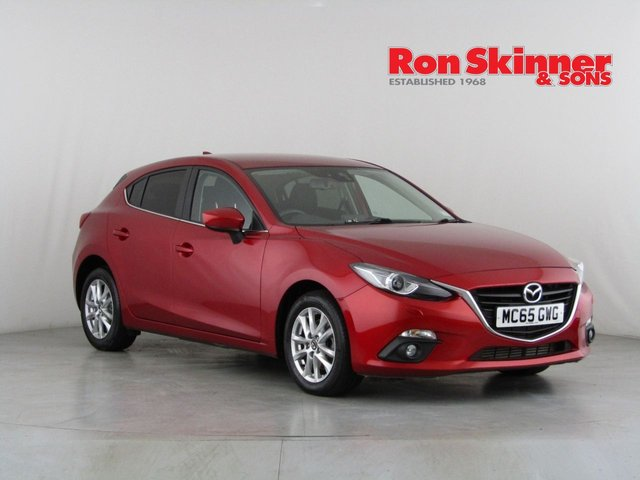 View our 2015 65 MAZDA 3 2.2 D SE-L NAV 5d 148 BHP
