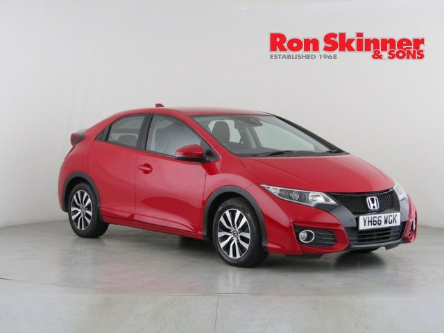 View our 2016 66 HONDA CIVIC 1.6 I-DTEC SE PLUS NAVI 5d 118 BHP