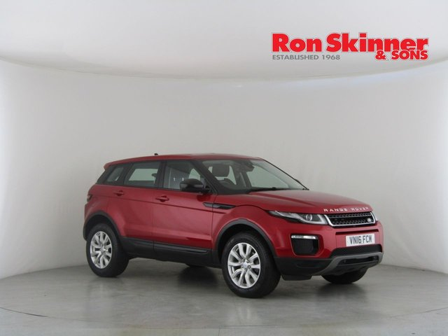View our 2016 16 LAND ROVER RANGE ROVER EVOQUE 2.0 ED4 SE TECH 5d 148 BHP