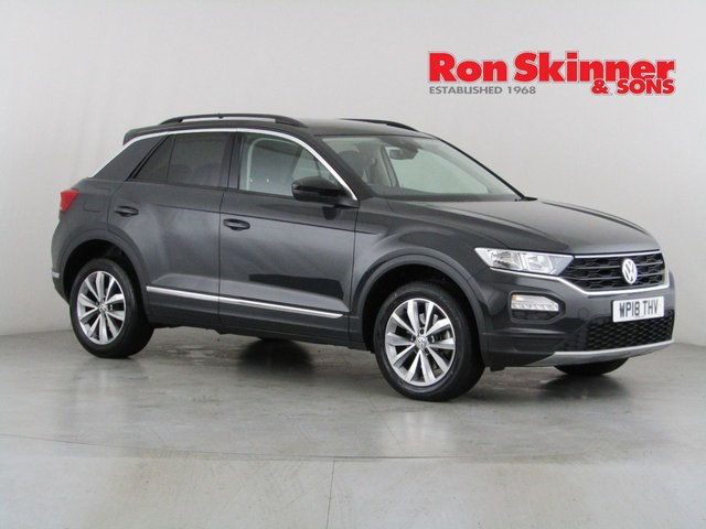 View our 2018 18 VOLKSWAGEN T-ROC 1.5 DESIGN TSI EVO 5d 148 BHP