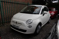 USED 2012 62 FIAT 500 1.2 POP DUALOGIC 3d AUTO 69 BHP 3 OWNERS with 5 Stamp SERVICE HISTORY
