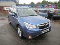 USED 2016 65 SUBARU FORESTER 2.0 D XC 5d 145 BHP