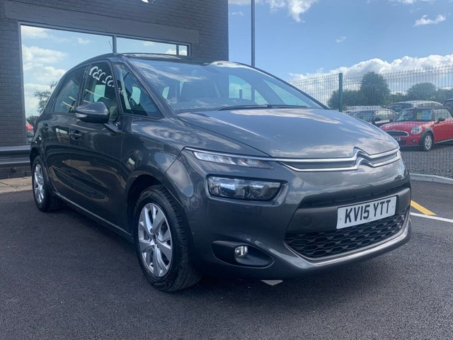 USED 2015 15 CITROEN C4 PICASSO 1.6 E-HDI VTR PLUS 5d 113 BHP AA WARRANTY,  MOT AND SERVICE INCLUDED