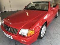 1993 MERCEDES-BENZ SL 3.0 300 SL 2d AUTO 190 BHP £8995.00