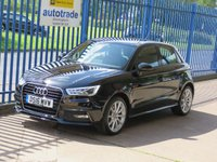 2016 AUDI A1 1.4 SPORTBACK TFSI S Line 5dr 1/2 Leather Xenons DAB Bluetooth & audio £13000.00
