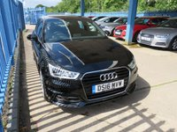 USED 2016 16 AUDI A1 1.4 SPORTBACK TFSI S Line 5dr 1/2 Leather Xenons DAB Bluetooth & audio 1 Lady Owner & Only £30 a year Tax