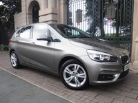 USED 2015 65 BMW 2 SERIES 2.0 218D LUXURY ACTIVE TOURER 5d AUTO 148 BHP ****FINANCE ARRANGED****PART EXCHANGE WELCOME***1 OWNER*£20 TAX*FULL LEATHER*NAB*BLUETOOTH*DAB*USB*AUX*AC