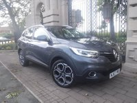 USED 2017 67 RENAULT KADJAR 1.2 DYNAMIQUE S NAV TCE 5d 130 BHP ****FINANCE ARRANGED****PART EXCHANGE WELCOME***RENAULT WARRANTY UNTIL 17/11/2020*1OWNER*CRUISE*LEATHER*DAB