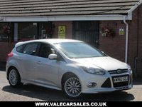2012 FORD FOCUS 1.6 TDCI ZETEC S (BLUETOOTH+£20 TAX) 5dr £4990.00