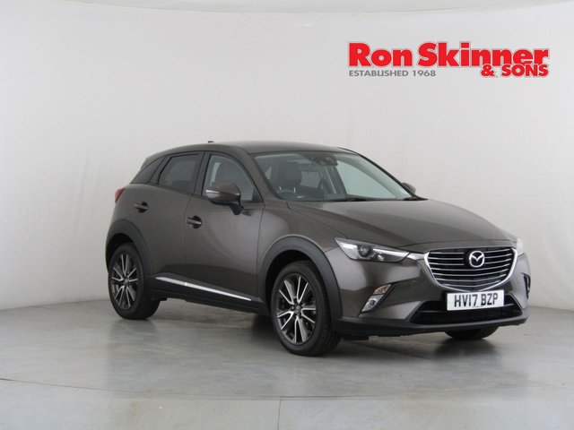 View our 2017 17 MAZDA CX-3 2.0 SPORT NAV 5d 118 BHP