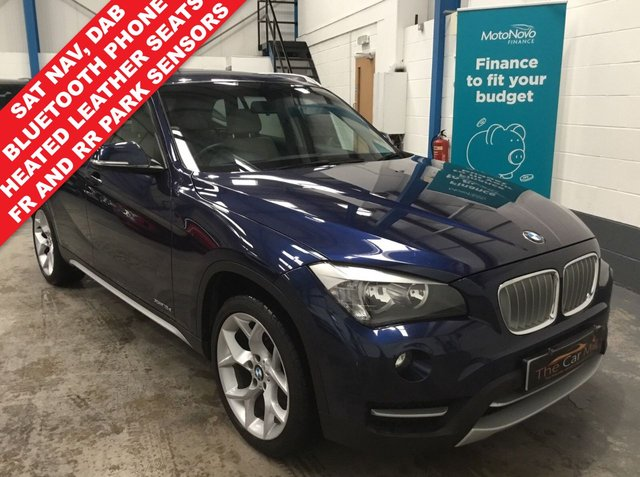 2013 63 BMW X1 2.0 XDRIVE18D XLINE 5d AUTO 141 BHP