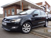 USED 2013 62 VOLKSWAGEN POLO 1.2 MATCH 5d 59 BHP ONE OWNER FROM NEW WITH AIR CONDITIONING LOW MILEAGE