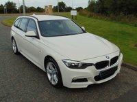 USED 2013 63 BMW 3 SERIES 2.0 320D XDRIVE M SPORT TOURING 5d 181 BHP X-DRIVE, SAT NAV, DAB, MSPORT