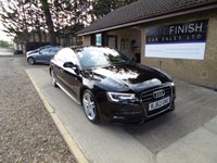 USED 2012 62 AUDI A5 2.0 SPORTBACK TDI S LINE 5d 134 BHP * 2 KEEPERS FROM NEW * 2 KEYS * £30 ROAD TAX * BLACK LEATHER * HEATED SEATS *