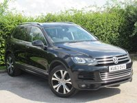 USED 2013 63 VOLKSWAGEN TOUAREG 3.0 V6 R-LINE TDI BLUEMOTION TECHNOLOGY 5d AUTOMATIC * FULL VOLKSWAGEN SERVICE HISTORY * AUTOMATIC *