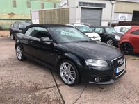 USED 2012 12 AUDI A3 2.0 TDI S LINE 2d 138 BHP **£30 A YEAR ROAD FUND**FANTASTIC DRIVE**FULL SERVICE HISTORY**