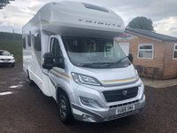2018 FIAT AUTO-TRAIL 2.3 TRIBUTE T 720 1d 130 BHP GT MODEL £44995.00