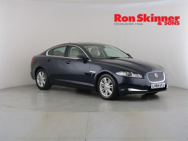 View our 2014 64 JAGUAR XF 2.2 D LUXURY 4d 163 BHP
