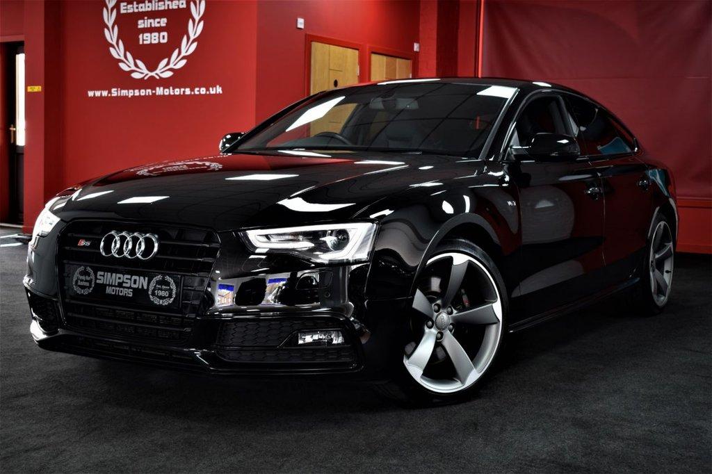 USED 2015 65 AUDI S5 3.0 S5 SPORTBACK TFSI QUATTRO BLACK EDITION 5d AUTO 328 BHP