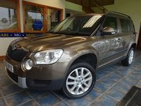 USED 2012 62 SKODA YETI 2.0 ELEGANCE TDI CR 5d 138 BHP HEATED FULL BLACK LEATHER!!