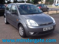 2002 FORD FIESTA 1.4 GHIA 16V 5d 78 BHP * 72000 MILES, SERVICE HISTORY * £1790.00
