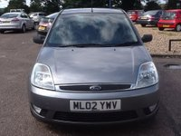 USED 2002 02 FORD FIESTA 1.4 GHIA 16V 5d 78 BHP * 72000 MILES, SERVICE HISTORY * ONLY 72000 MILES, SERVICE HISTORY