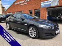 """USED 2014 14 JAGUAR XF 3.0 D V6 R-SPORT 4DOOR AUTO 240 BHP DAB Radio   :   Satellite Navigation   :   USB & AUX Sockets   :   Automatic Headlights      Cruise Control   :   Phone Bluetooth Connectivity   :   Climate Control / Air Conditioning      Hands Free Voice Control   :   Rear Parking Sensors   :   Contrasting Leather Upholstery      18"""" Alloy Wheels   :   2 Keys"""