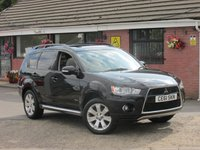 2011 MITSUBISHI OUTLANDER 2.3 DI-D GX 4 (7 SEATS+ONE OWNER) 5dr £8490.00