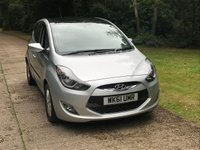 USED 2011 61 HYUNDAI IX20 1.6 STYLE 5d AUTO 123 BHP SUNROOF AUTOMATIC LOW MILEAGE, AIR CON, FINANCE ME TODAY-UK DELIVERY POSSIBLE