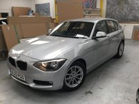 2013 BMW 1 SERIES 1.6 116D EFFICIENTDYNAMICS 5d 114 BHP £7000.00