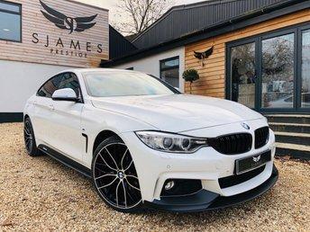 2016 BMW 4 SERIES 2.0 420D XDRIVE M SPORT GRAN COUPE 4d AUTO 188 BHP £20490.00