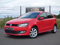 2013 VOLKSWAGEN POLO MATCH EDITION 1.2 5d 69 BHP £5750.00