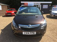 USED 2014 14 VAUXHALL ZAFIRA TOURER 1.4 SE 5d 138 BHP FULLY AA INSPECTED - FINANCE AVAILABLE