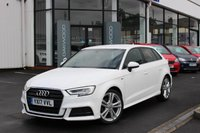 USED 2017 17 AUDI A3 2.0 TDI S line Sportback (s/s) 5dr