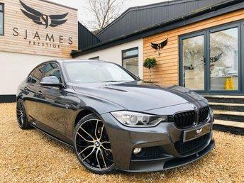 2015 BMW 3 SERIES 2.0 320D M SPORT 4d AUTO 181 BHP £15490.00