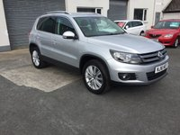 2016 VOLKSWAGEN TIGUAN 2.0 MATCH EDITION TDI BMT 4MOTION 5d 148 BHP4wd scare model £13500.00