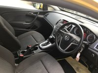 USED 2014 64 VAUXHALL ASTRA 1.4 GTC SPORT 3d AUTO 138 BHP