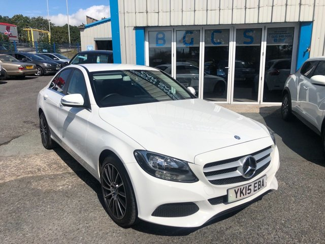 2015 Mercedes-Benz C Class C200 Bluetec SE Executive £12,490