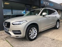 USED 2016 16 VOLVO XC90 2.0 D5 MOMENTUM AWD 5d AUTO 222 BHP NAV, Leather, Full Volvo history, 2 keys