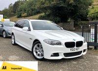 2012 BMW 5 SERIES 2.0 520D M SPORT TOURING 5d 181 BHP £10790.00
