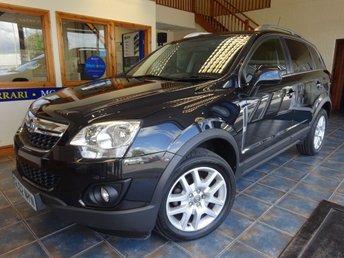 2013 VAUXHALL ANTARA 2.2 EXCLUSIV CDTI 4WD S/S 5d 161 BHP £5950.00