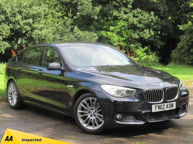 USED 2012 12 BMW 5 SERIES 3.0 530D M SPORT GRAN TURISMO 5d AUTO 242 BHP FULL PRO SATELLITE NAVIGATION