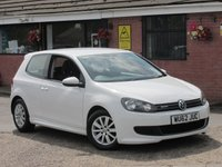 2012 VOLKSWAGEN GOLF 1.6 S TDI BLUEMOTION (£0 ROAD TAX) 5dr £4990.00