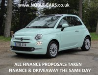 2015 FIAT 500 1.2 LOUNGE 3d 69 BHP £SOLD
