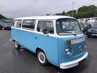USED 1973 L VOLKSWAGEN TRANSPORTER 1600 CARAVAN CAMPERVAN Fully restored & converted camper