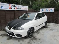 USED 2008 08 SEAT IBIZA 1.9 TDI DAB 3d 99 BHP SEE FINANCE LINK FOR DETAILS