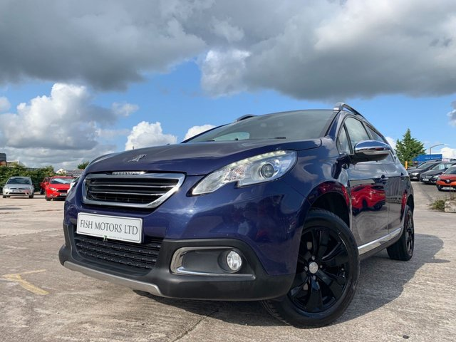 USED 2014 14 PEUGEOT 2008 1.2 ALLURE 5d 82BHP 1 FORM KEEPER+3KEYS+MEDIA+DAB+SATNAV+BLUETOOTH+PARK+HALF LEATHER+