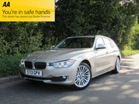 2013 BMW 3 SERIES 2.0 320D XDRIVE LUXURY TOURING 5d AUTO 181 BHP £12950.00
