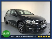 USED 2017 17 VOLKSWAGEN GOLF 1.6 SE TDI BLUEMOTION TECHNOLOGY DSG 5d AUTO 114 BHP FULL HISTORY - EURO 6 - PARKING SENSORS - AIR CON - BLUETOOTH - DAB RADIO - CRUISE - CD PLAYER