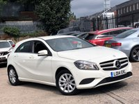 2014 MERCEDES-BENZ A CLASS 1.5 A180 CDI BLUEEFFICIENCY SE 5d AUTO 109 BHP £9444.00